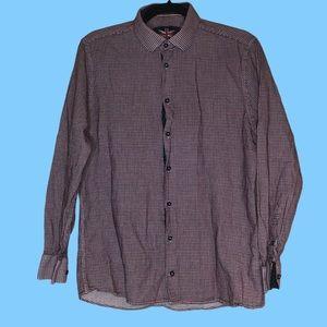 Soul of London men's button down dress shirt